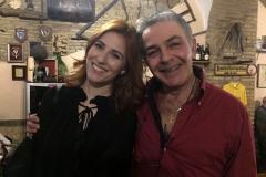 l'Attrice Conduttrice TV Diana Del Bufalo