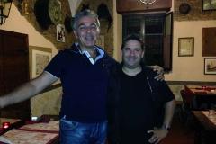 Don Aldo Bonaiuto e Lorenzo