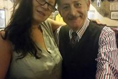 Leo Gullotta con Tiziana