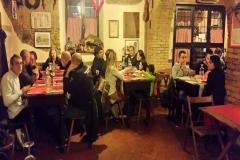 Cena Osteria del Gelsomino Roma