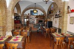 Sala Osteria del Gelsomino Roma Centro