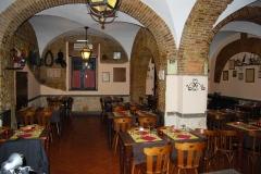Sala Ristorante Osteria del Gelsomino Roma